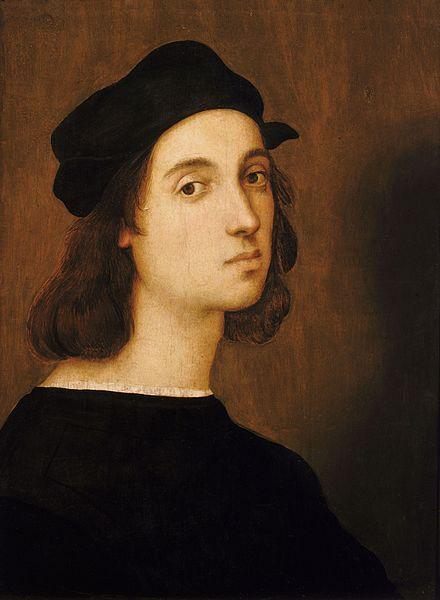 Raphael Sanzio Selfportrait (public domain)